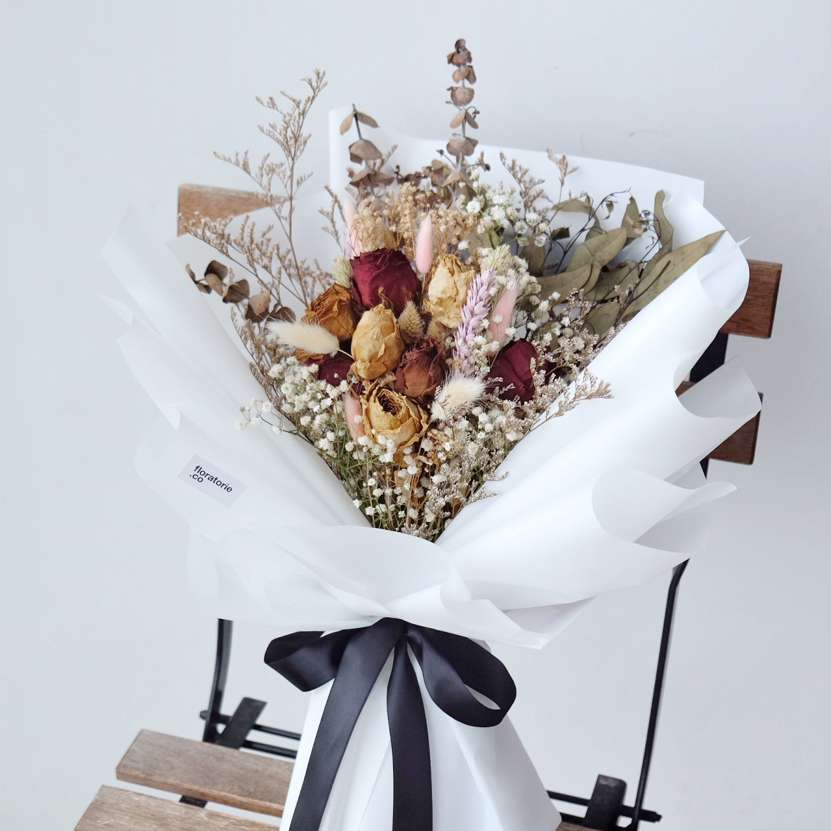 Rustic dried flower bouquet floratorie rustic dried flower bouquet izmirmasajfo Image collections