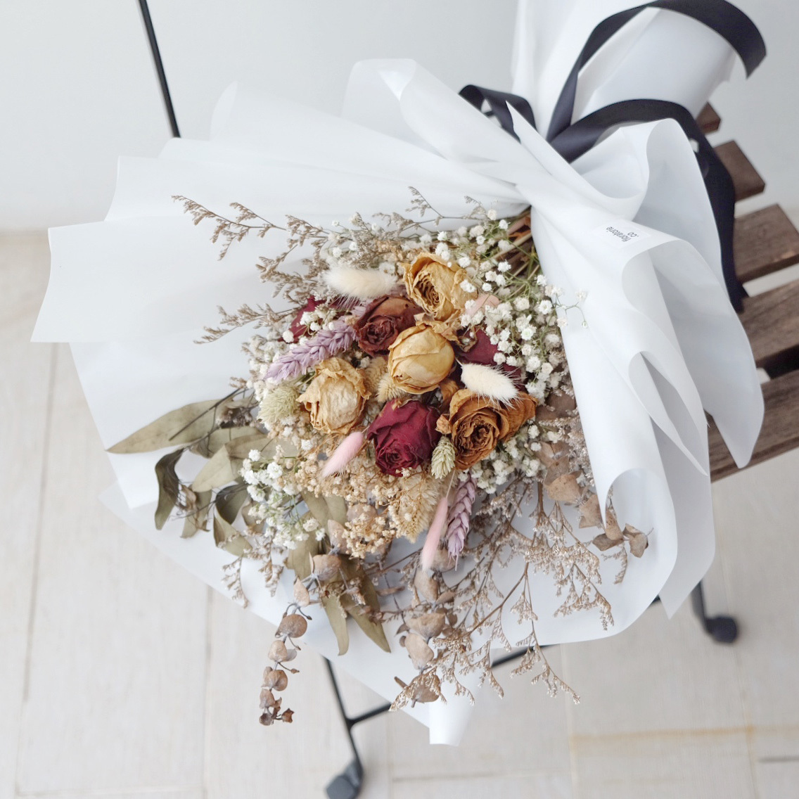 Rustic dried flower bouquet floratorie singapore online florist rustic dried flower bouquet izmirmasajfo