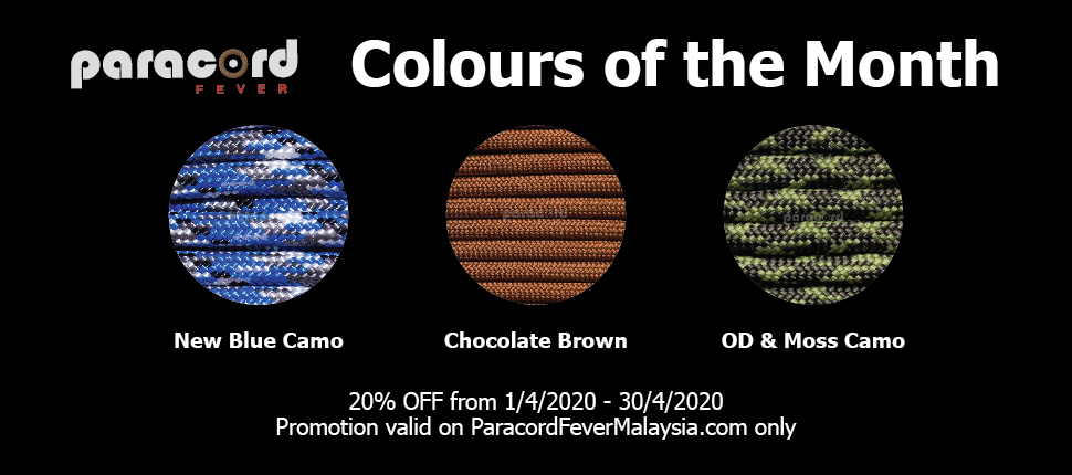 Colours of the month