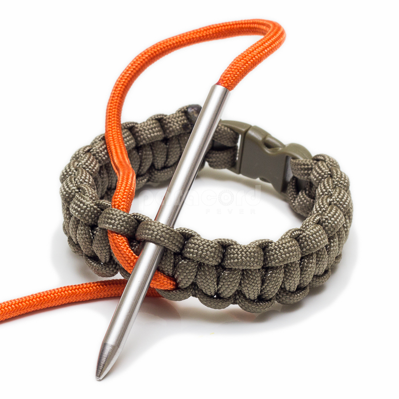 4 mm Stainless Steel Paracord Needle Lacing Fid - Knit Through Tight Holes With Ease