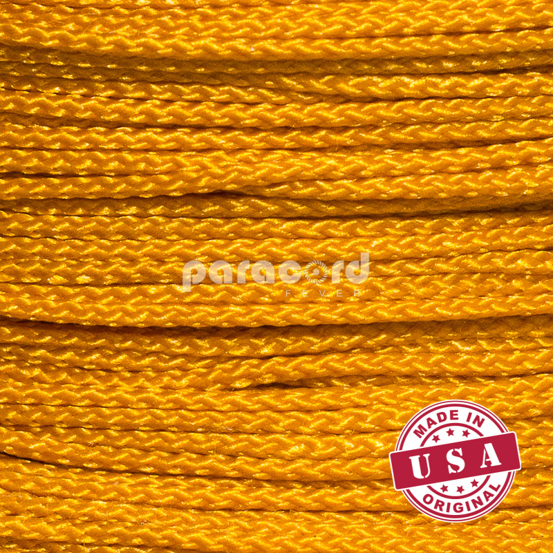 "1/16"" (1.6 mm) Thin Micro 90 Cords - Goldenrod"