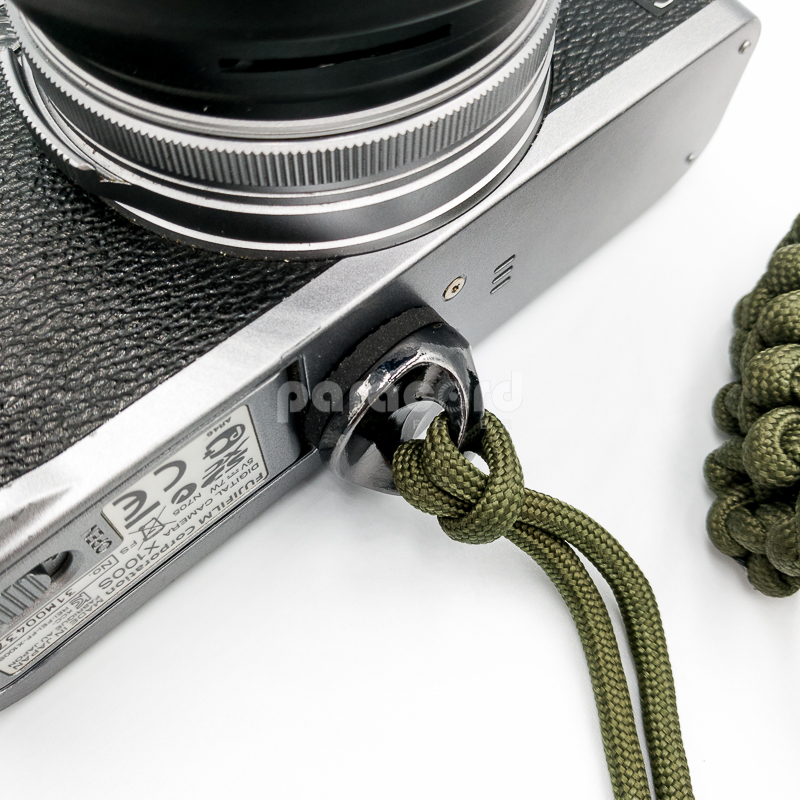 """Solid Stainless Steel 1/4"""" Screw for Quick Release Camera Strap with Protective Rubber Washer"""