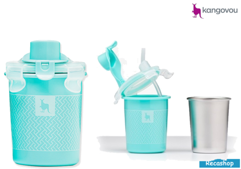 Kangovou Sippy Cup - 8oz Iced Mint.fw.png