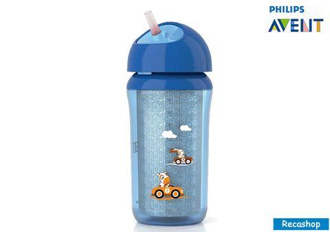 avent  insulated straw bottle 9oz blue.jpg