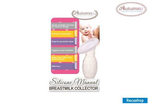 Autumnz-Silicone Manual Breastmilk Collector (FOC Hygiene Cover).jpg