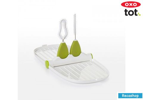 Oxo Tot Breast Pump Parts Drying Rack with Brushes.jpg