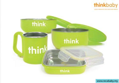 thinkbaby feeding set- green.jpg
