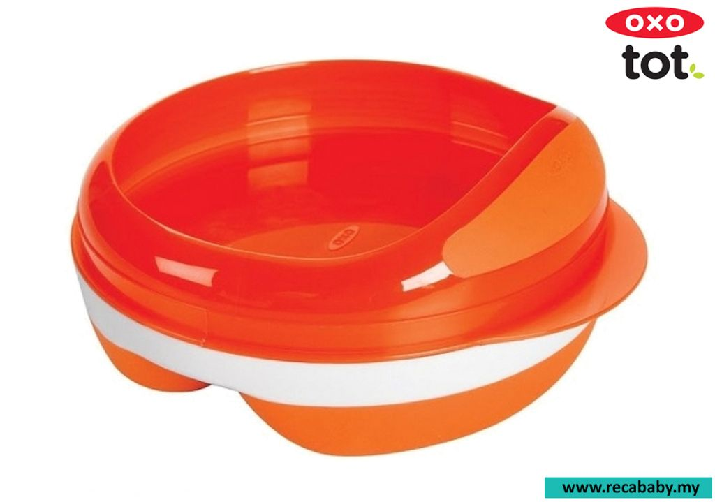 Oxo Tot Divided Feeding Dish with Removable Ring (Orange).jpg