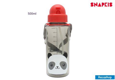 SNAPKIS STRAW WATER BOTTLE panda.jpg