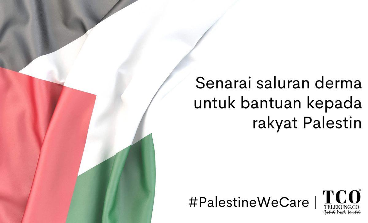Solidariti Buat Palestin - Senarai NGO Untuk Infaq Anda Kepada Rakyat Palestin