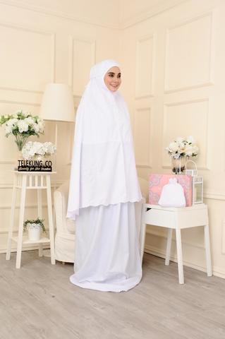 01 - telekung cotton - surihati - snow white.JPG