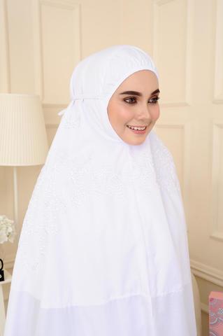 05 - telekung cotton - surihati - snow white.JPG