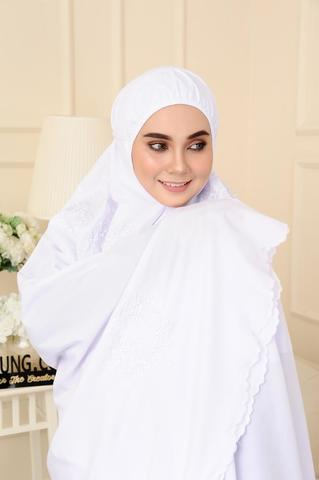 07 - telekung cotton - surihati - snow white.JPG