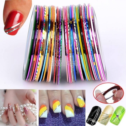Nail care accessories pp online shop nail art striping tape prinsesfo Image collections
