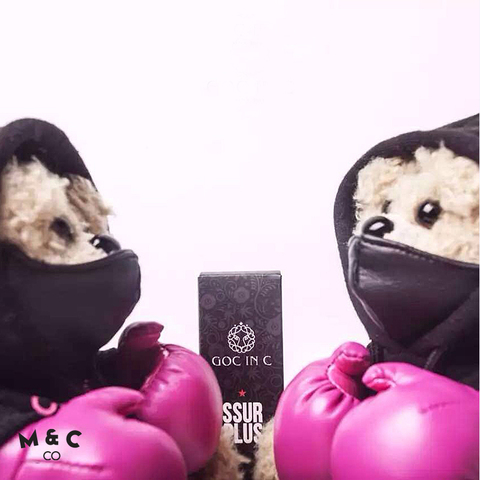 GOC IN C  SSUR  teamed up - pink knuckles boxing bear power bank 8000mah4.jpg