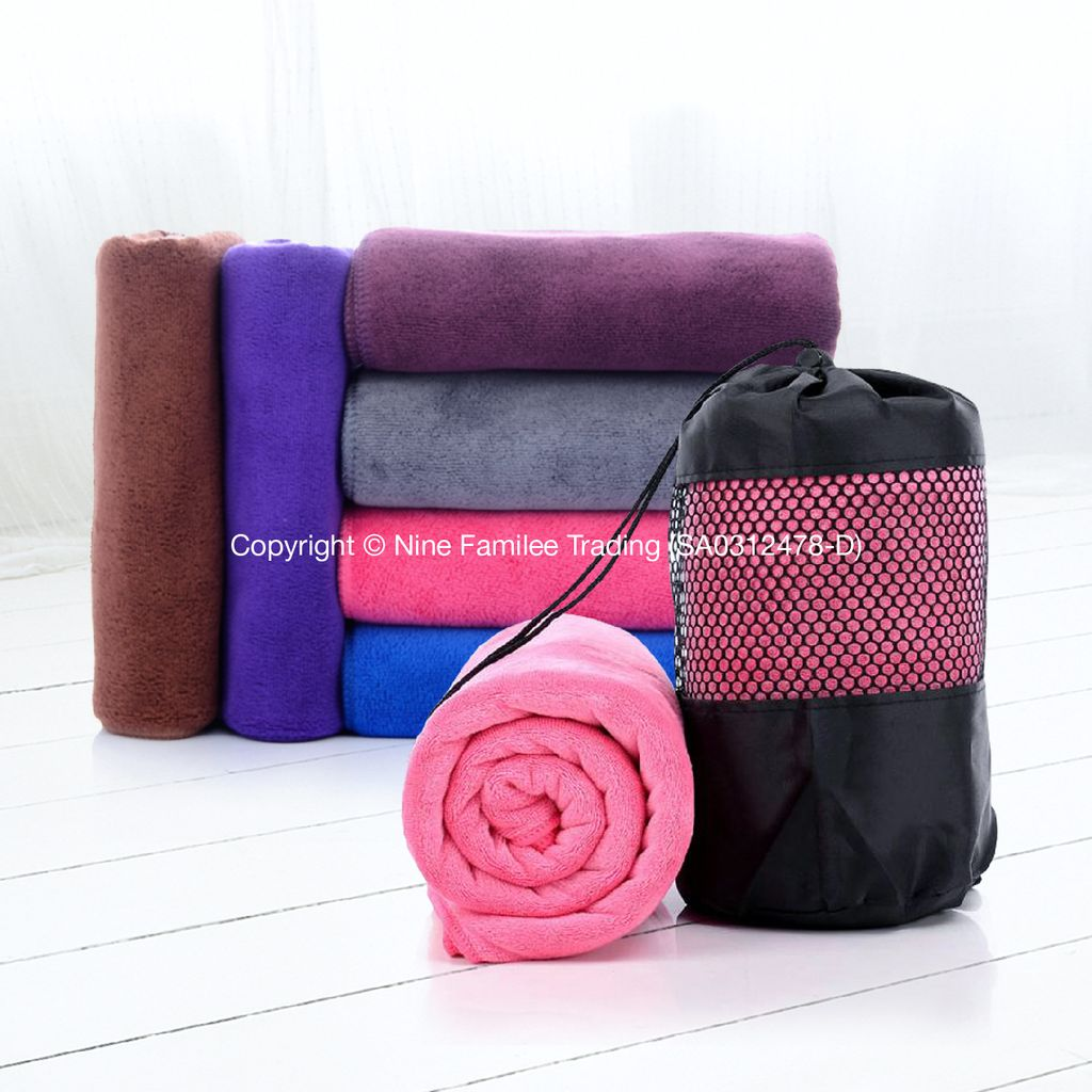 Towel Microfibre with Roses NEW