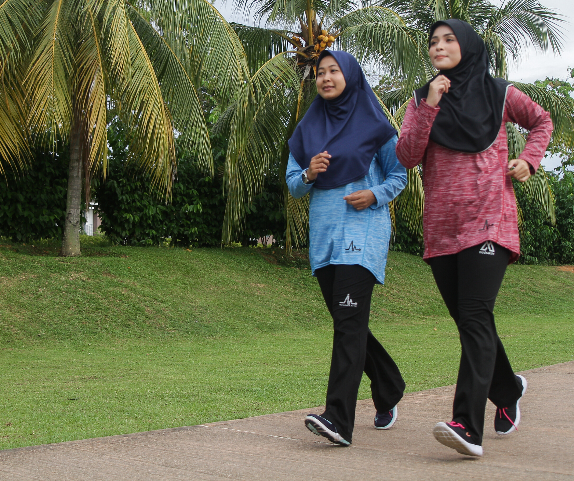 Muslimah Aktiv | Featured Collections - MODE Long Sleeve Tshirt