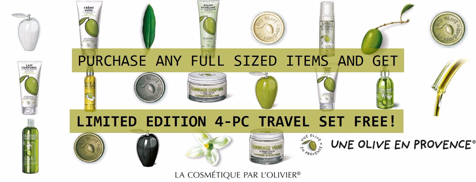 FREE Limited Edition 4-Pc Travel Set