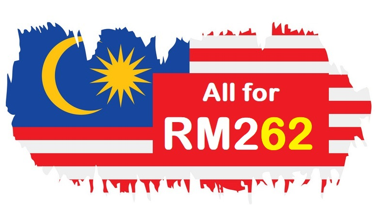 62nd Merdeka Day Deals for RM262