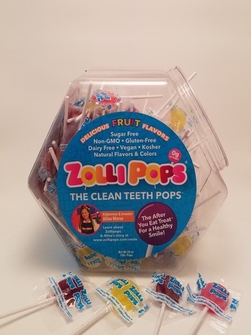 Zollipops The Clean Teeth Pops (The After You Eat Treat) - Assorted 150 Ct.jpg