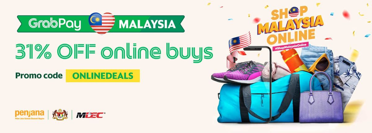 Shop With GrabPay Wallet And Enjoy 31% OFF!