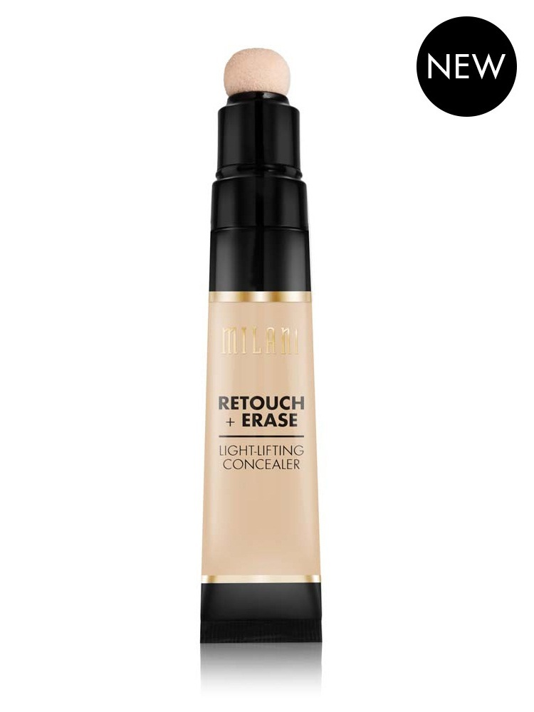 Concealer Creasing: Milani Retouch + Erase Light-Lifting Concealer