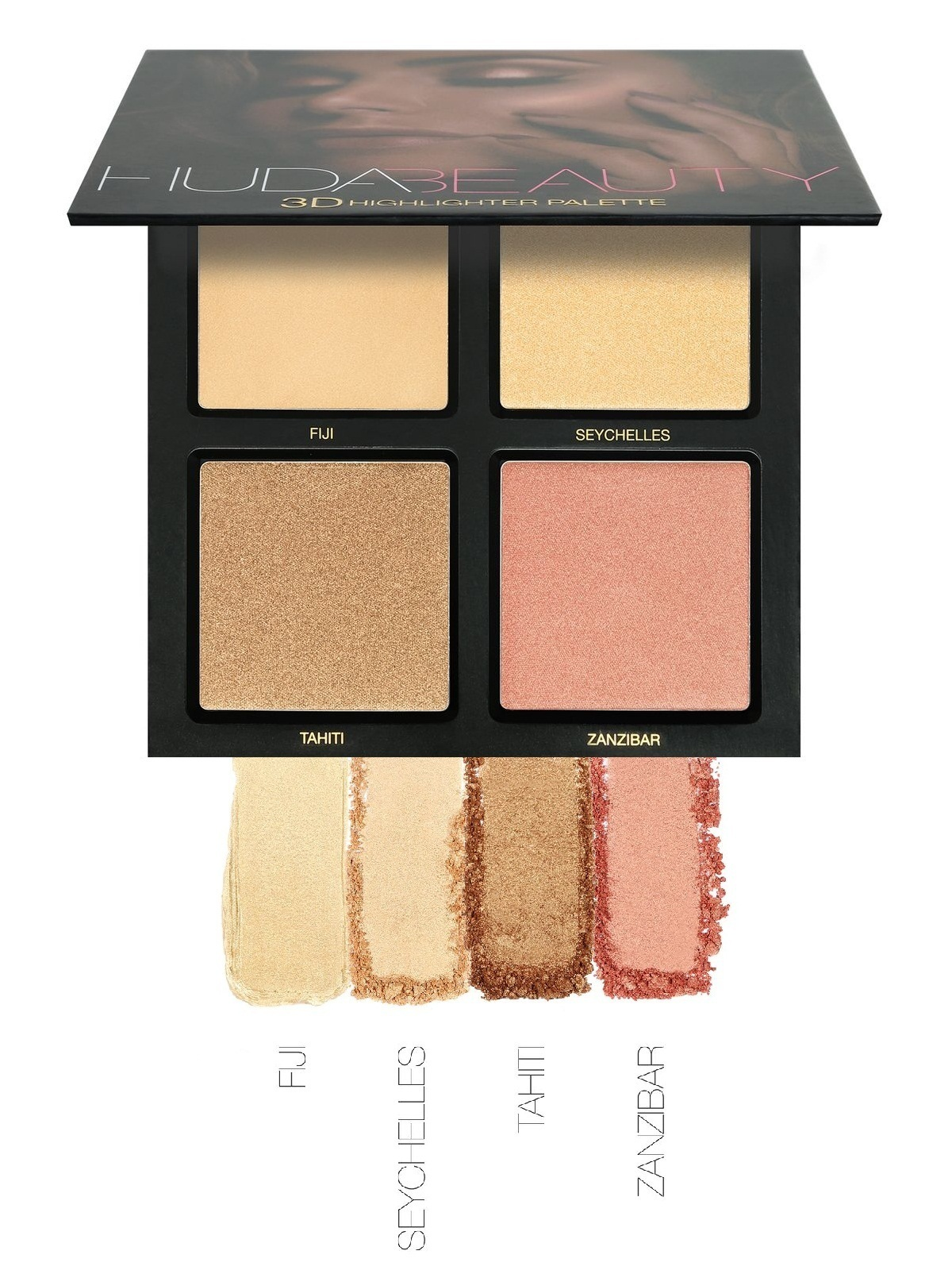 huda beauty 3d highlighter palette the gold sand palette. Black Bedroom Furniture Sets. Home Design Ideas