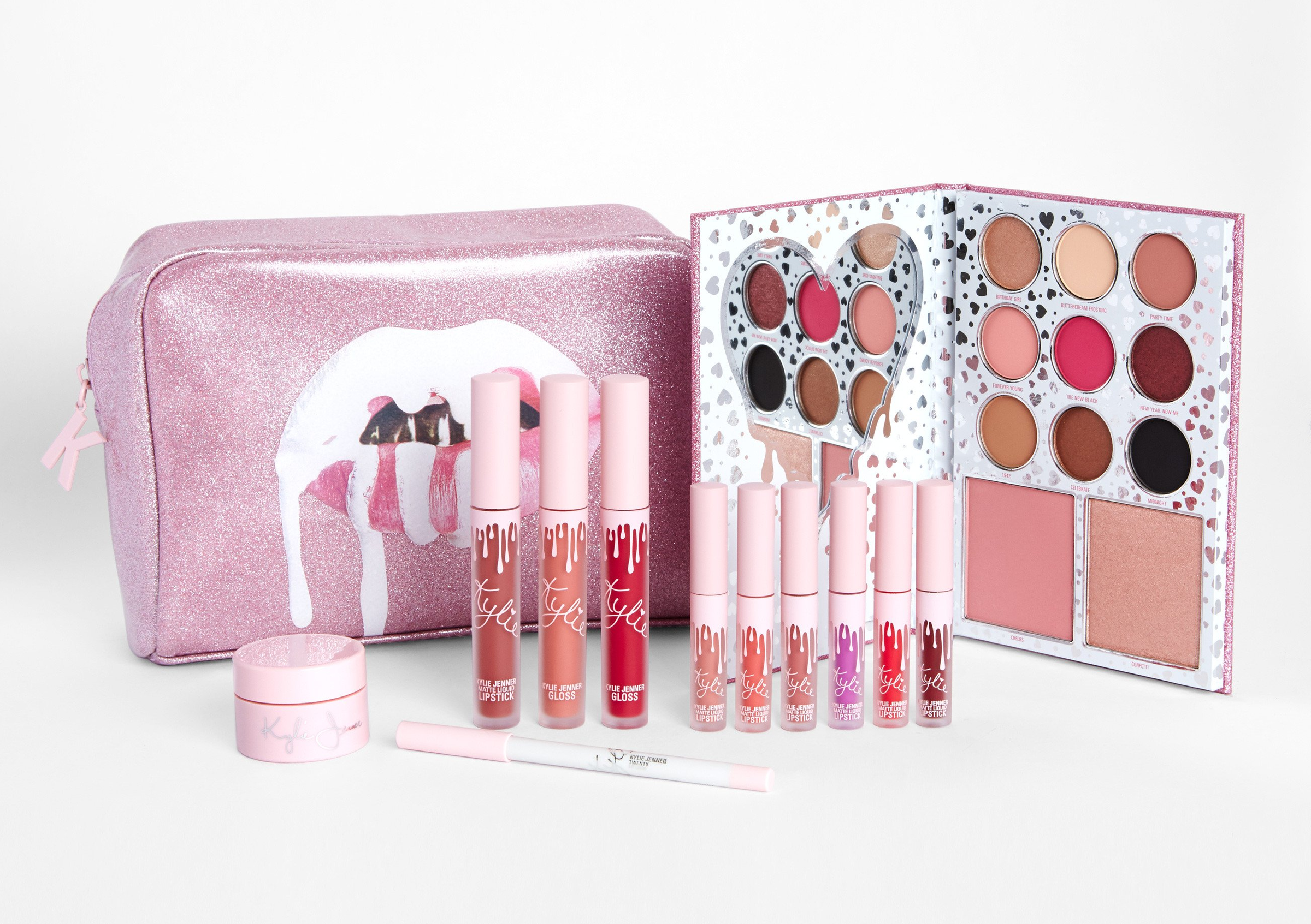 Kylie Cosmetics The Birthday Collection Makeup Bag Beautyspot Malaysia S Health Beauty Online Store