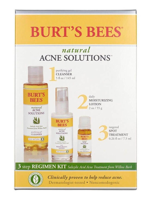 Burt's Bees Natural Acne Solutionstm 3 Step Regimen Kit - 1 Kit.jpg