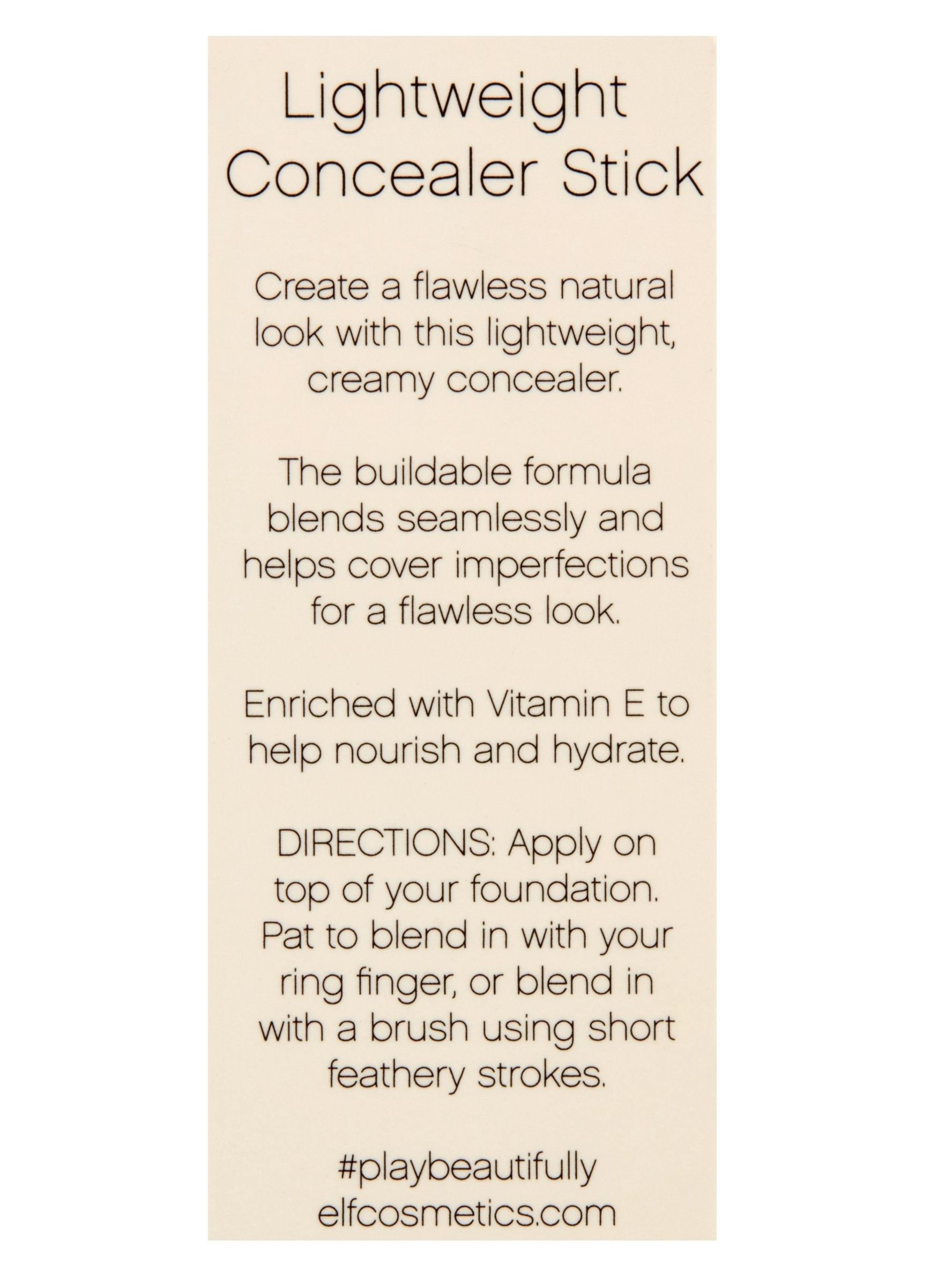 e.l.f. Beautifully Bare Lightweight Concealer Stick - Light.Medium.jpg