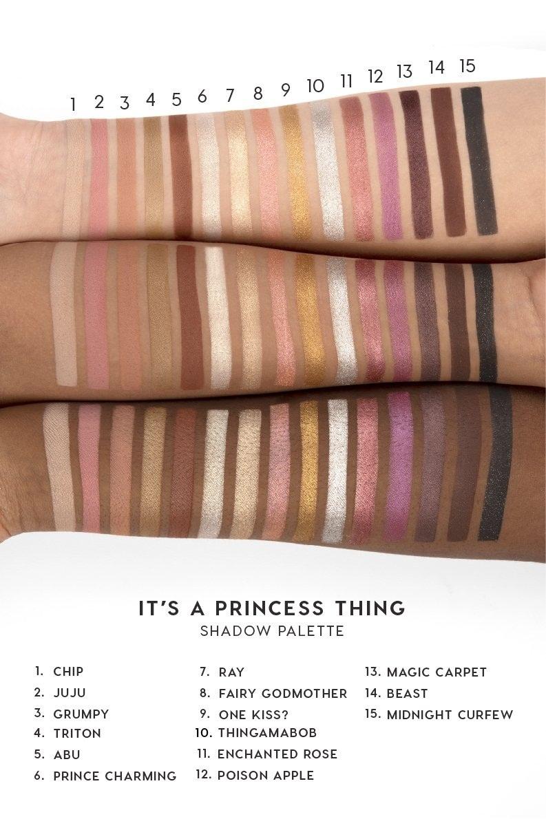 COLOURPOP Pressed Powder Shadow Palette - DISNEY Designer - It's A Princess Thing.jpg