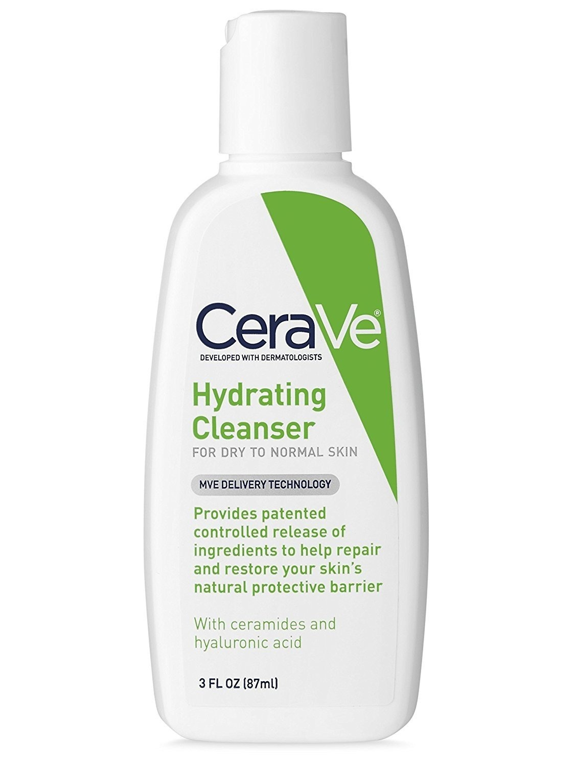 CeraVe Hydrating Facial Cleanser - for Normal to Dry Skin 3 oz (87ml).jpg