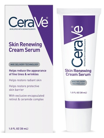 CeraVe Skin Renewing Retinol Cream Serum - for Fine Lines & Wrinkles, 1oz (30ml).jpg