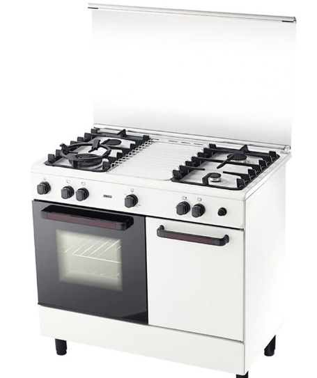 Zanussi ZCG-942W 4 Burner Freestanding Gas Cooker with 62L Multi Function Oven.PNG