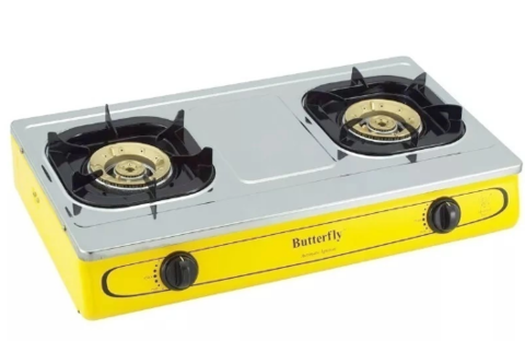 Butterfly B T923 Double Burner Gas StovePNG