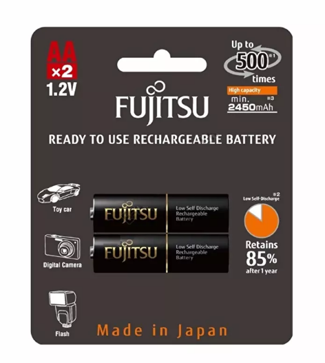 Fujitsu HR-3UTHCEX(2B) Rechargeable AA Ready to use Battery 2550mah (500 cycle) 2pcs.PNG