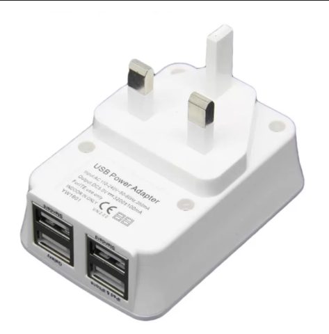 Eurosafe 4-Port USB Home Wall Travel AC Charger Power Adapter.PNG
