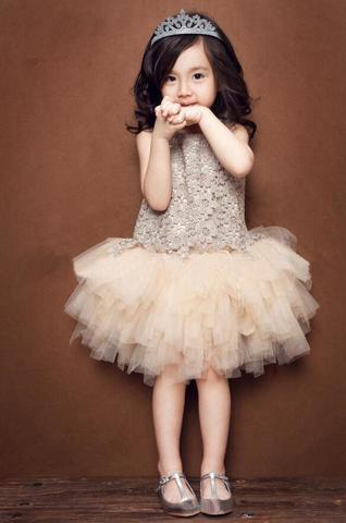 Girl Fancy Lace Layered Tutu Dress (beige)_2.jpg