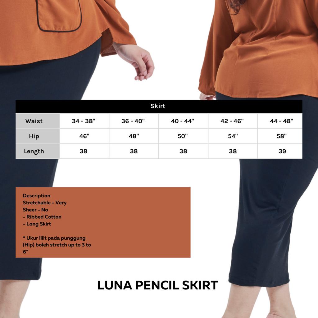 Description Long Sleeve Asymetrical Puff Sleeve Stretchable - Very Sheer - No - Ribbed Cotton - Long Skirt _ Ukur lilit pada punggung (Hip) boleh stretch up to 3 to 6_.png