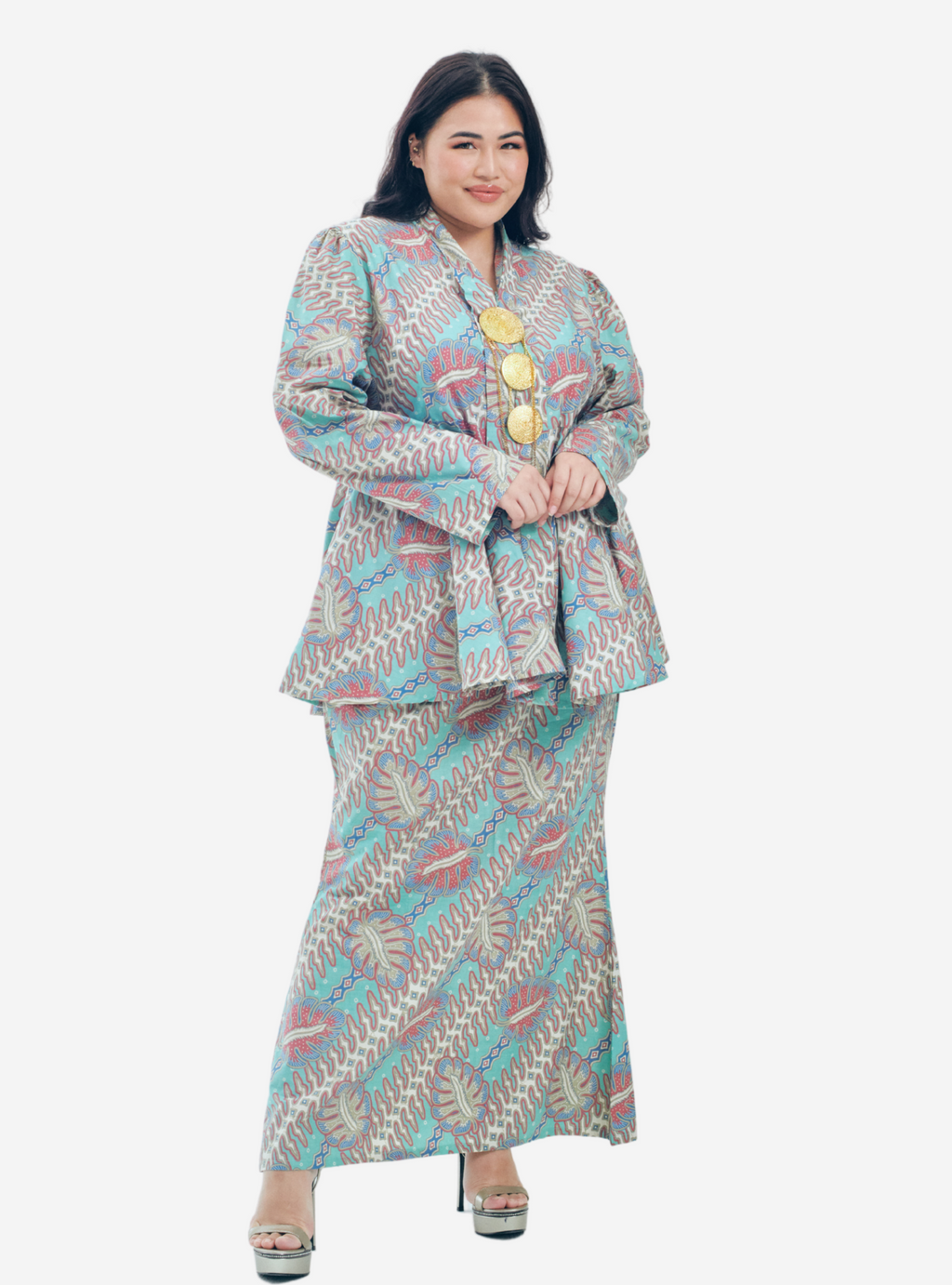 Copy of Description Long Sleeve Asymetrical Puff Sleeve Stretchable - Very Sheer - No - Ribbed Cotton - Long Skirt  Ukur lilit pada punggung (Hip) boleh stretch up to 3 to 6 (5).png