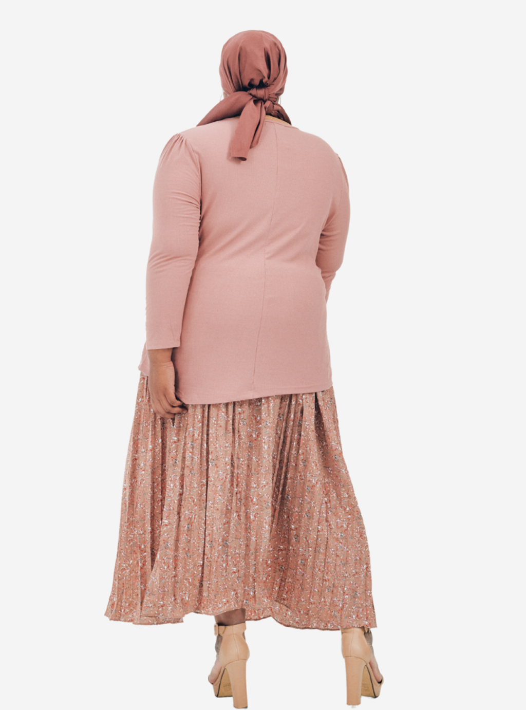 Copy of Description Long Sleeve Asymetrical Puff Sleeve Stretchable - Very Sheer - No - Ribbed Cotton - Long Skirt  Ukur lilit pada punggung (Hip) boleh stretch up to 3 to 6 (19).png