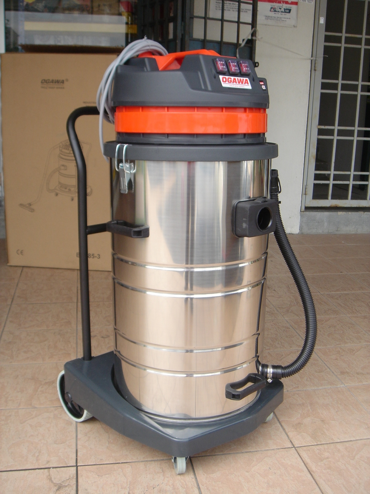 Ogawa 3 0kw 80l Industrial Wet Amp Dry Vacuum Cleaner My