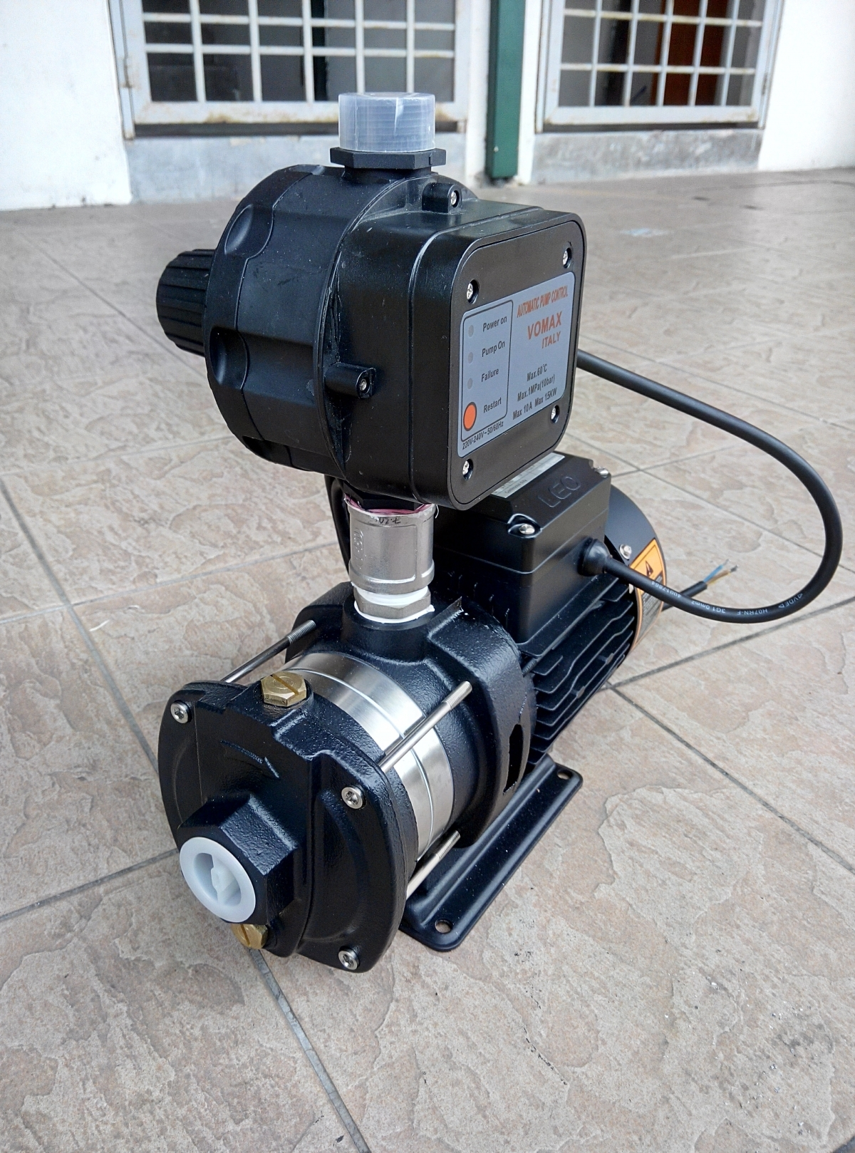 Leo 0 5hp Horizontal Multistage Centrifugal Pump My