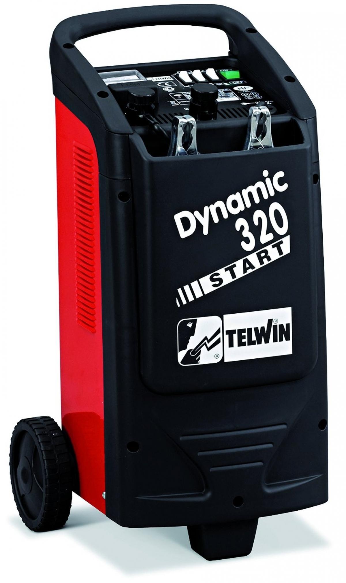 Telwin 12v 24v Dynamic 320 Battery Charger Amp Jump Starter