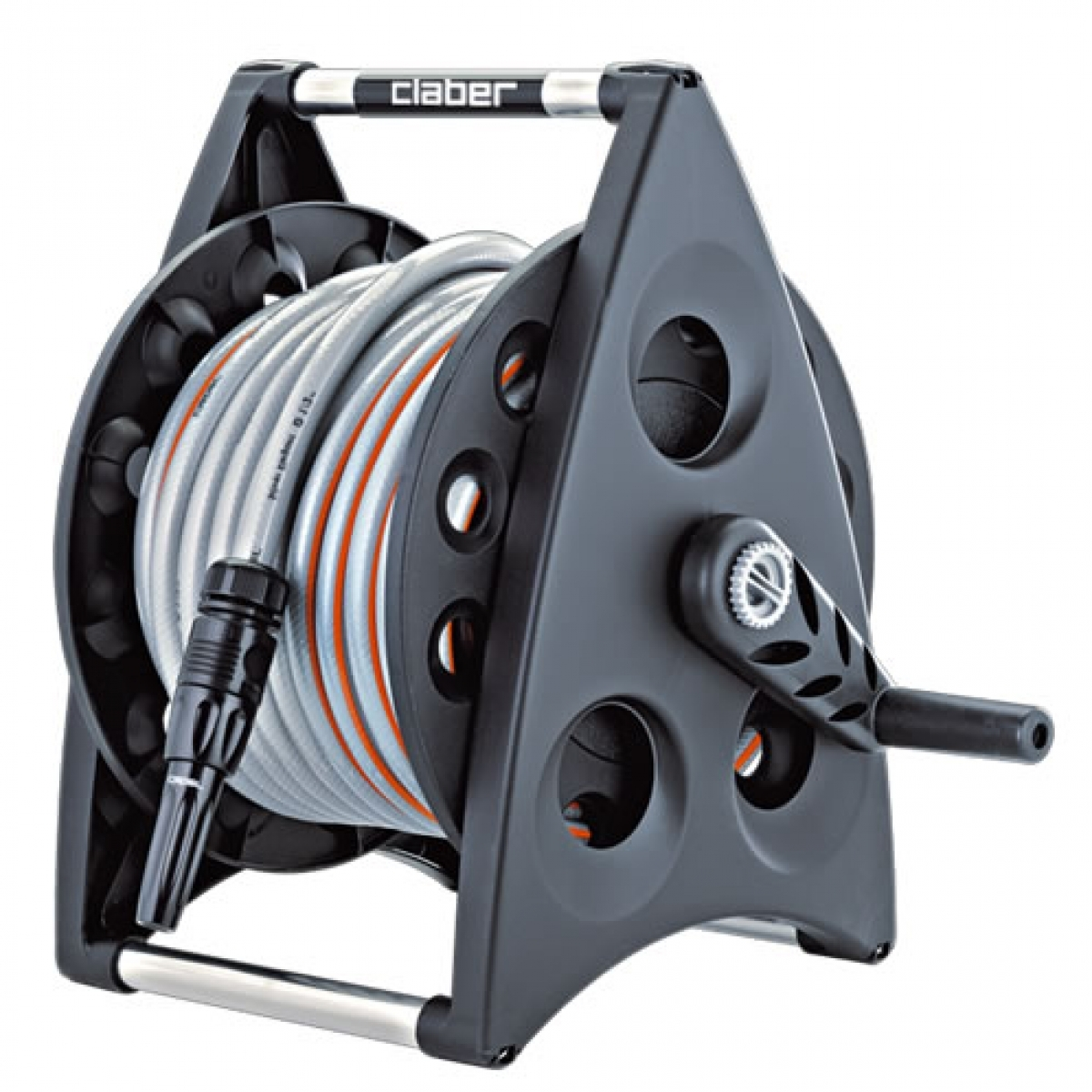 Claber 20m Kiros Kit Portable Hose Reel My Power Tools