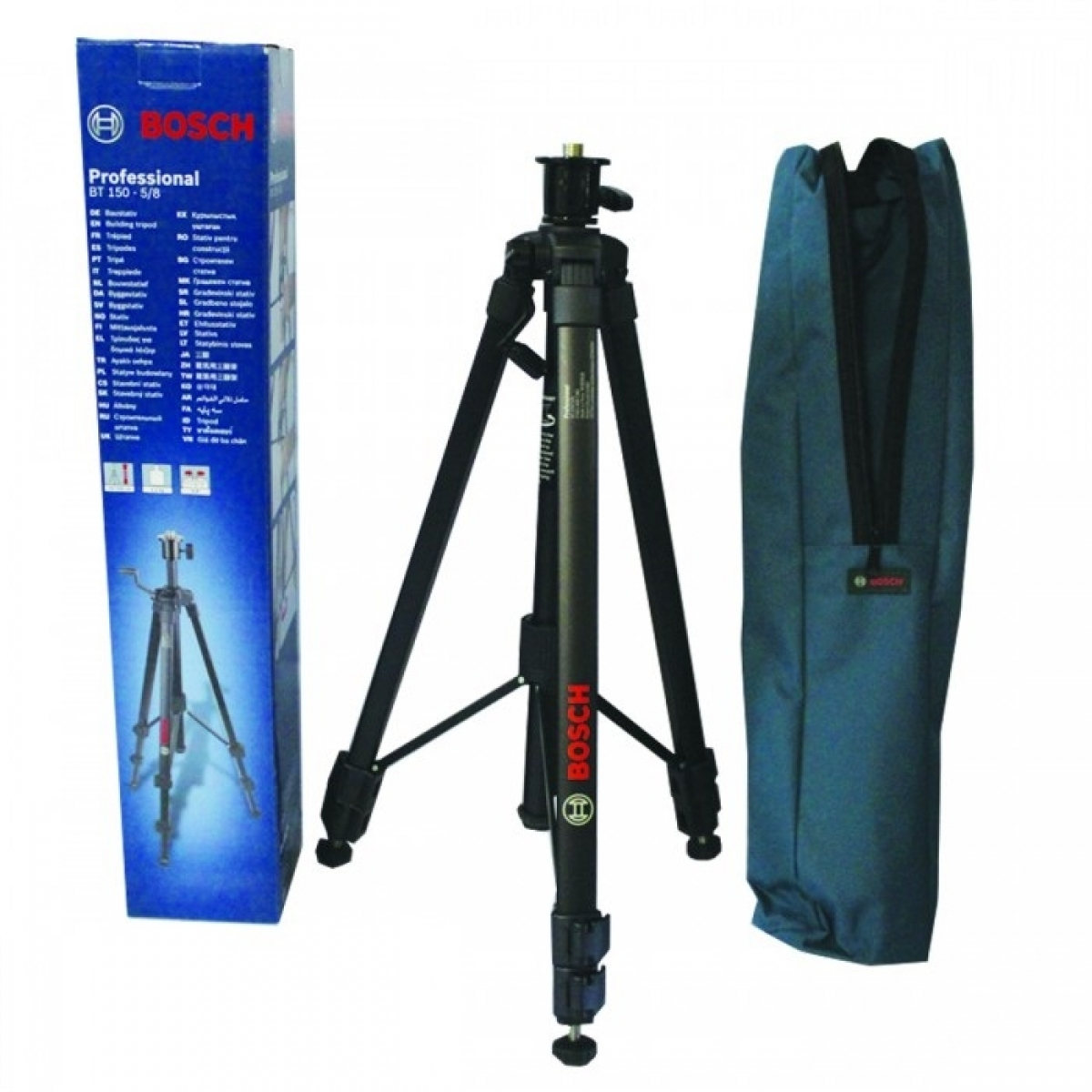 bosch bt 150 5 8 building tripod stand my power tools. Black Bedroom Furniture Sets. Home Design Ideas
