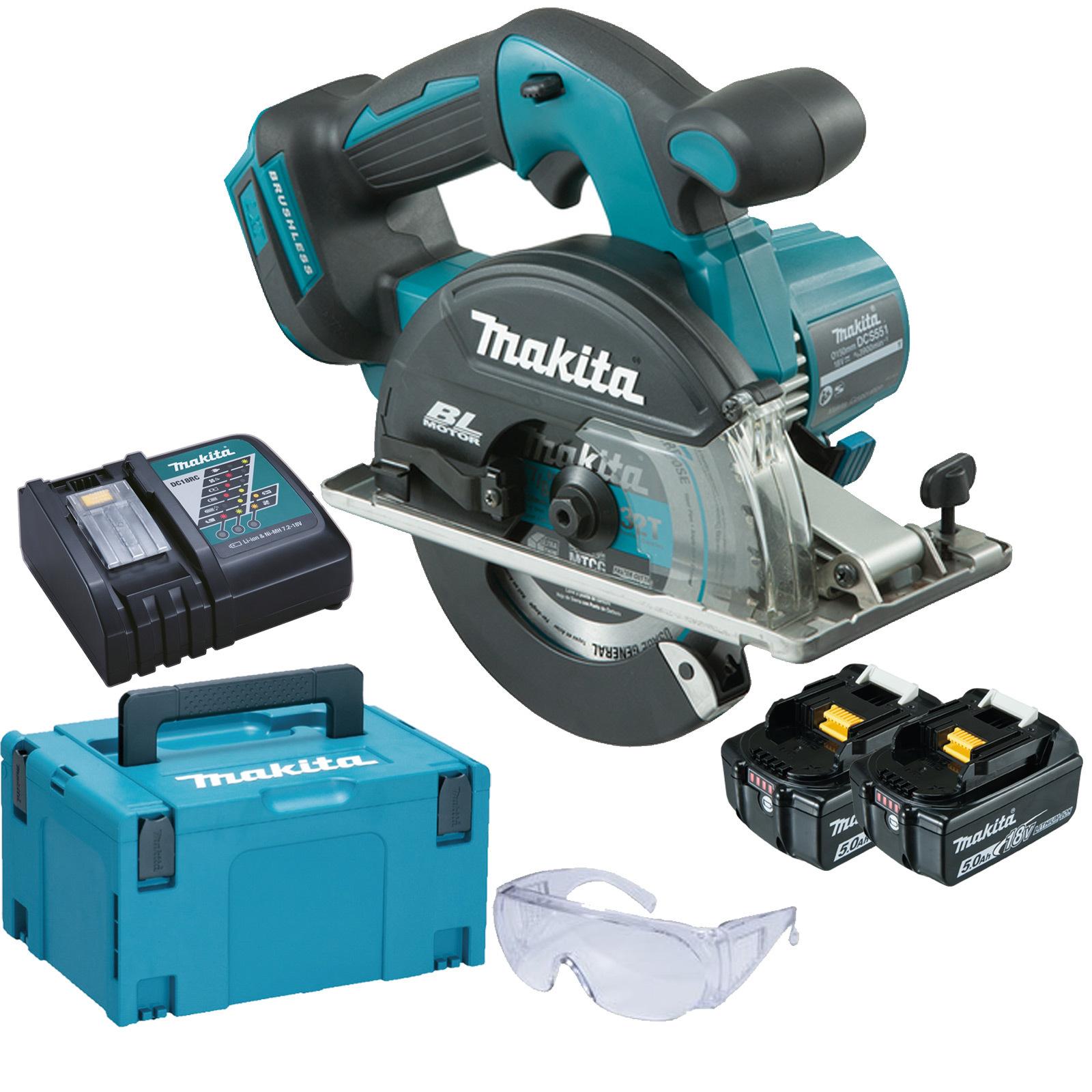 makita 18v cordless brushless 150mm 6 metal circular saw my power tools. Black Bedroom Furniture Sets. Home Design Ideas