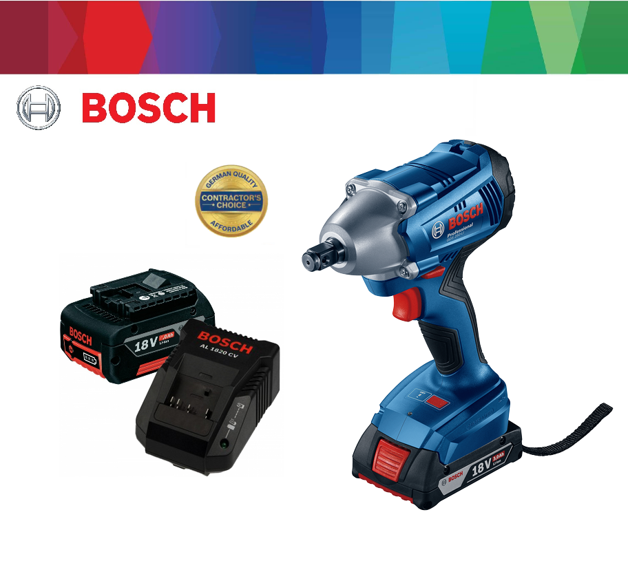 bosch gds 18v compact cordless impact wrench my power tools. Black Bedroom Furniture Sets. Home Design Ideas