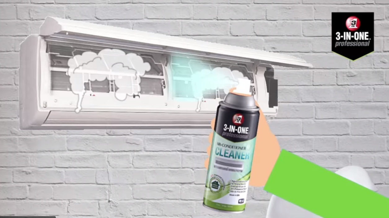 Wd40 3 In 1 Professional Air Conditioner Cleaner My