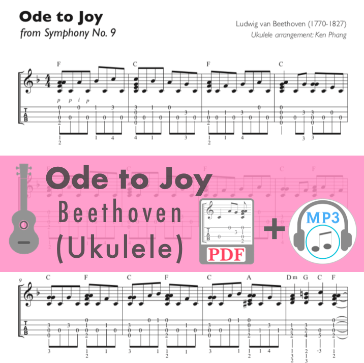 Ode to Joy / Beethoven (Ukulele)